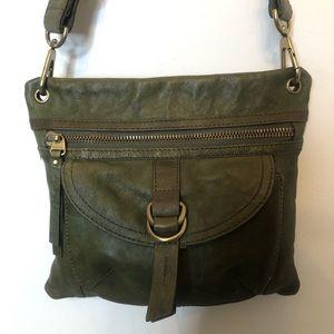 Vintage FOSSIL 1954 Soft Leather Crossbody Bag